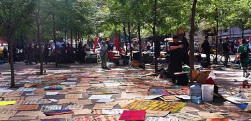 Cenk Uygur, Occupy Wall Street e la dichiarazione di indipendenza.