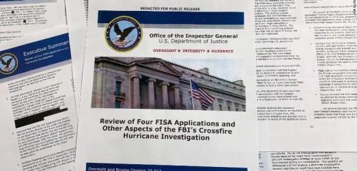 Rapporto dell'Ispettore Generale: ribaltato il Russiagate