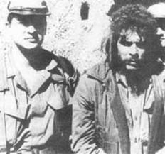 """Felix Rodriguez con """"Che"""" Guevara"""