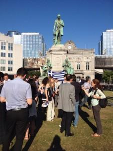 Bruxelles cittadini Greci