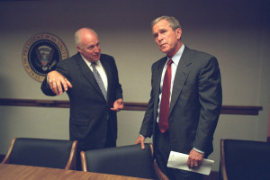 Bush and Cheney on 9/11